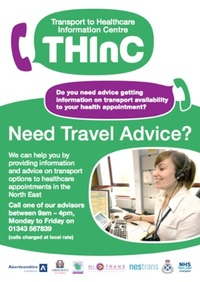 The Transport to Healthcare Information Centre (THInC)